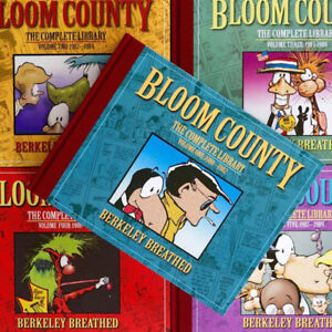 BLOOM COUNTY - THE COMPLETE LIBRARY - VOLUMES 1 TO 5