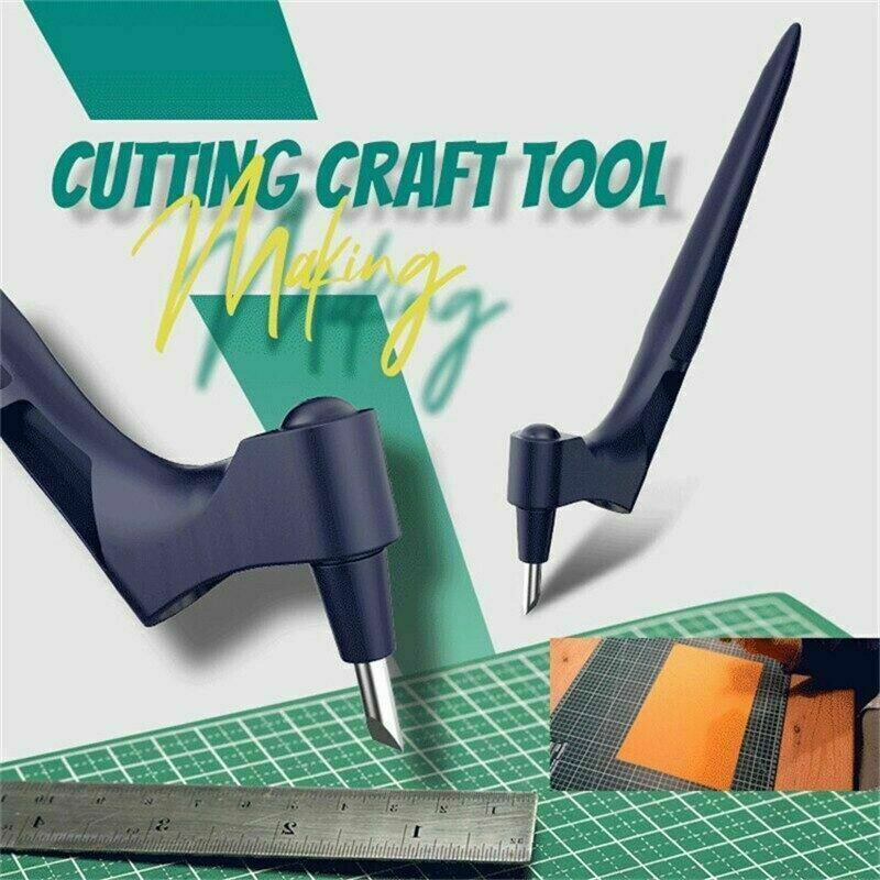 Craft Cutting Tools Knife w/ 360-degree Rotating Blade Art Cutting Tool Fr Hobby