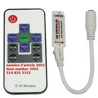 10Key RF Wireless Remote Mini Controller For RGB 3528 5050 Led