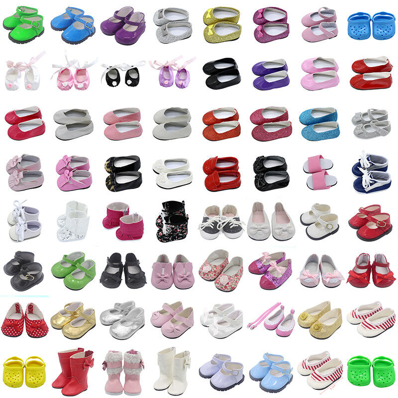 Beautiful Doll Shoes Fits 18 Inch Girl Doll and Other 18 Inch Doll