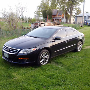 2011 Volkswagen CC Passat Sportline 2L Turbo Manual 6 spd