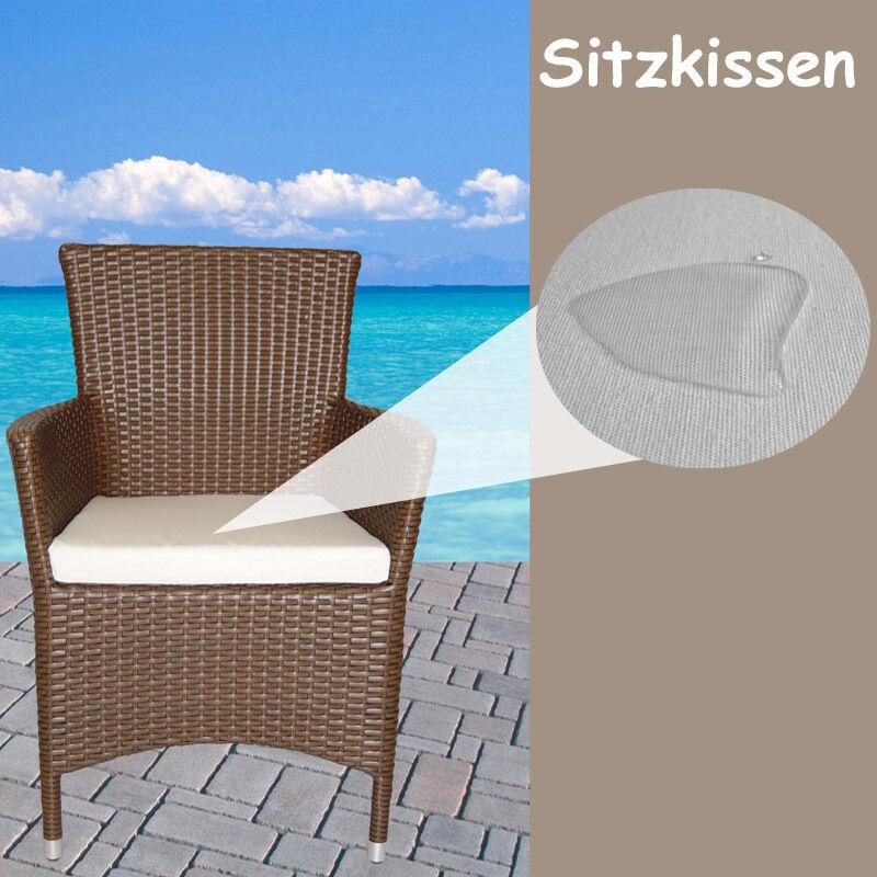 gartenm bel auflagen polster sitzkissen sitzpolster kissen rattan lounge stuhl eur 19 99. Black Bedroom Furniture Sets. Home Design Ideas