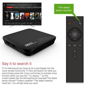 Android TV 8 core CPU-3GB RAM-BT-Voice Control