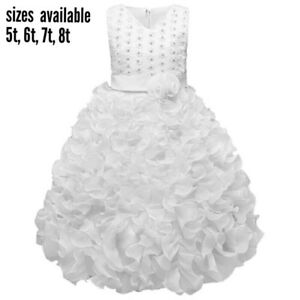 Dresses for flower girl,communion,baptism
