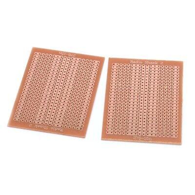10 Pcs Diy Prototype Paper Pcb Universal Experiment Matrix Circuit Board 5x7cm