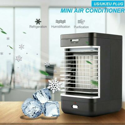 Mini Air Conditioning Unit Conditioner Fan Cold Water Home Cooler Cooling System