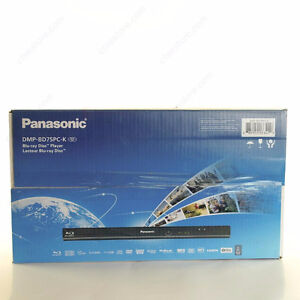 Panasonic Blu-Ray Disc Player DMP-BD75PC-K Boxed Complete!