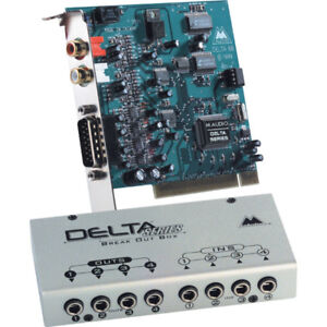 M-Audio Delta66 and Delta44 Audio Interfaces for PC