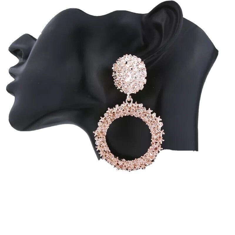 Vintage Fancy Earrings Gold