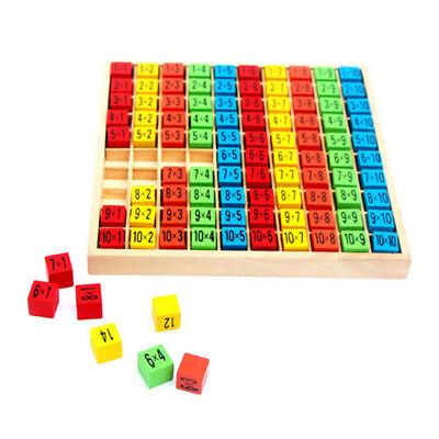 ädagogische Spielzeug 99 Multiplikation Tabelle Mathe Spiel (Kinder Pädagogisches Spielzeug)