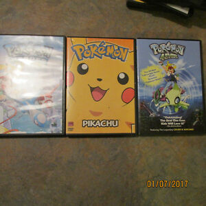 Pokemon 4Ever/Pokemon Heroes /Pokemon Pikachu (DVD, 2011)