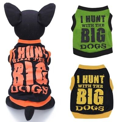 Beauty Small Pet Clothes Dog T Shirt Vest Cat Puppy Chihuahua Clothing Costume