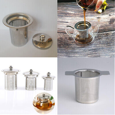 Stainless Steel Tea Infuser Loose Leaf Strainer Mesh Filter For Teapot Tea Cup ()