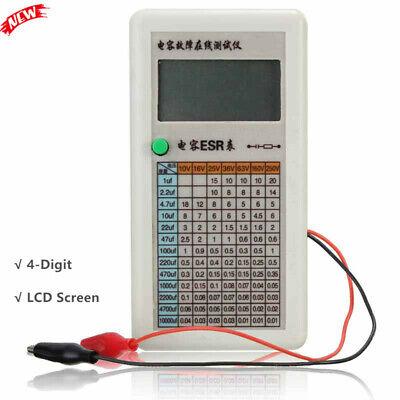 In-circuit Esr Capacitor Tester Esr Meter Capacitor Fault Online Tester Lcd