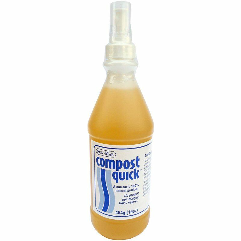 Sun-Mar Compost Quick Cleaner and Catalyst for Composting 16 Oz