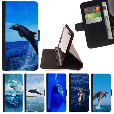 Dolphin Cover - DOLPHIN SEA ANIMAL WALLET CASE COVER FOR APPLE IPHONE 7