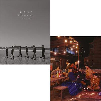 BTOB [HOUR MOMENT] Album 2 Ver SET 2CD+2 POSTER+2 Foto Buch+2 Fost Karte+2 Karte