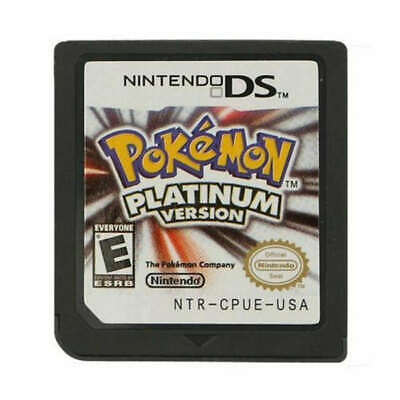 Top Pokemon Platinum Version Game Card for Nintendo 3DS NDSI NDS NDSL Lite Gift
