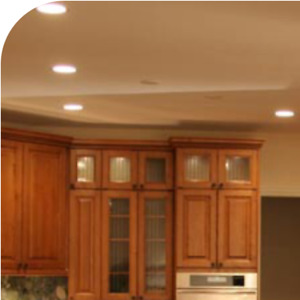 Custom cabinets , millwork and interiors