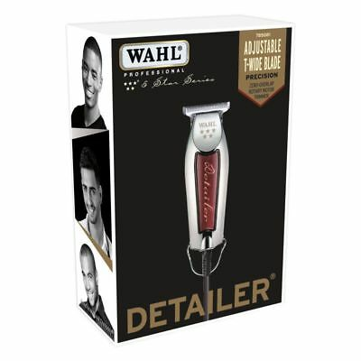 Used, WAHL Professional 5 Star Detailer Trimmer w/ Adjustable T-BLADE 8081 NEW! for sale  Fort Washington