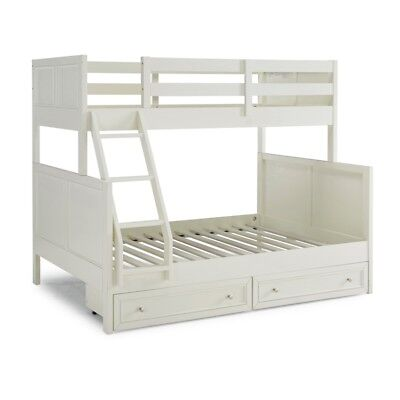 Naples Twin Over Full Bunk bed with Storage Drawers