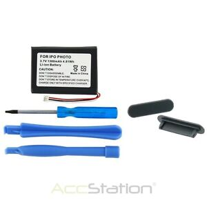 NEW 1200mAh Battery Accessory For Apple IPOD PHOTO 4th Gen 4G 4 20GB 40GB 60GB