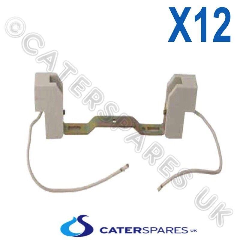 CATERING HEAT LAMP GANTRY BULB CERAMIC HOLDER R7 120MM LONG FOR 118MM HOLDERS