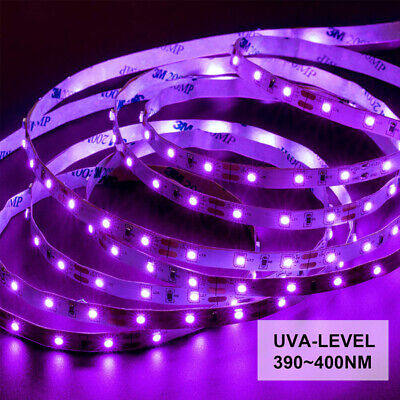 5M UV Lighting Black Light Bar UV Body Paint UV Lamp Bead Blacklight Party Decor