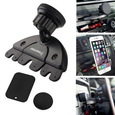 360° Car Holder CD Slot Magnet Holder Mount For Cell Phone iPhone Samsung GPS