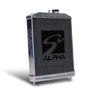 Skunk2 Racing Alpha Series Half Size Aluminum Radiator 92 00 Honda Civic ALL NEW