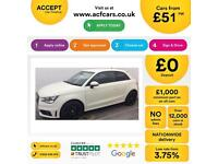 Audi A1 1.4 ( 122ps ) Tronic 2011MY S Line FROM £51 PER WEEK.