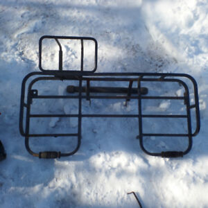 rear back rack with gas carrier sportsman 400