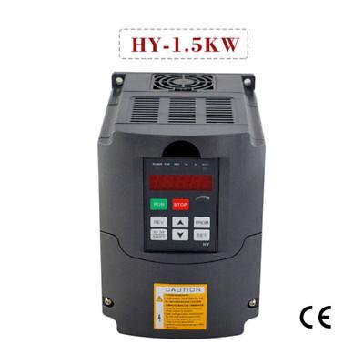Vfd Variable Frequency Drive Inverter Cnc 1.5kw 110v Huan Yang Brand 2hp 7a