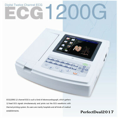 Usatouch Ecg Machine Ekg 12 Channel Electrocardiograph Interpritationsoftware