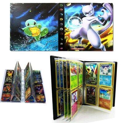 Pokemon 240 Cards Album Binder Folder Book List Card Collectors DIY Cards Holder