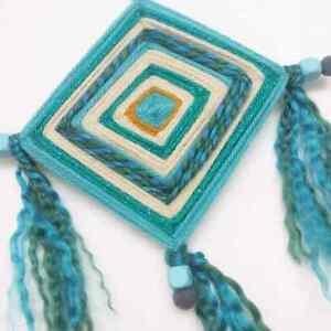 God's Eye Mandala Hippy Bohemian Yoga Meditation Spiritual Art  Kitchener / Waterloo Kitchener Area image 2