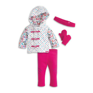 "AMERICAN GIRL ""HIT THE SLOPES"" OUTFIT BRAND NEW IN BOX $50"