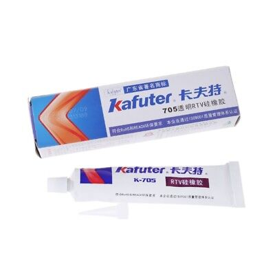 Transparent Rtv Silicone Rubber Adhesive Grease Sealant Electronic Glue