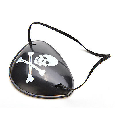 Pirate Eye Patch Halloween Party Favor Bag Costume Dress Up Kids Toy  dy