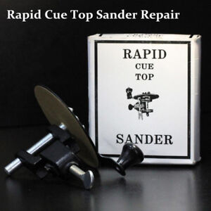 Rapid Pool Cue Tip Replacement Tool Sander Billiards Snooker