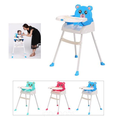 4 in1 Kinderhochstuhl Baby Essstuhl Sitzerhöhung Treppenhochstuhl Klappbar DHL
