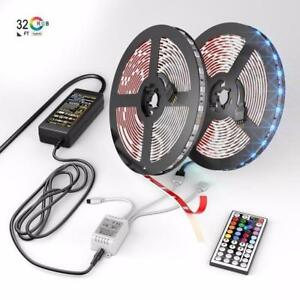 This LED Strip Lights Kit is So Cool Light Up Any Surface +Free Shipping!!