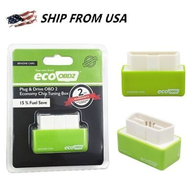 - Eco OBD OBD2 Economy Fuel Saver Tuning Box Chip For Petrol Car Auto Gas Saving