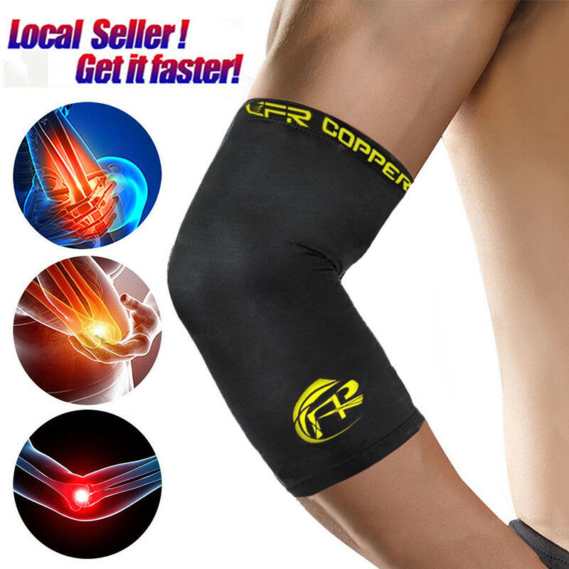 RDX Compression Elbow Sleeve Strap Forearm Support Elastic Pain Relief Brace US