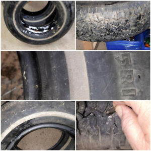 Set of two tires for sale