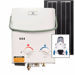 Eccotemp L5 Tankless Water Heater (w/ 12V pump & 30W Solar Kit)