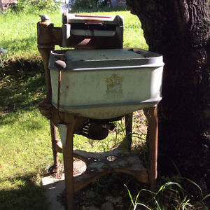 Antique Maytag Washer as Planter