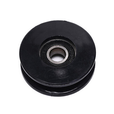 1x50mm Black Bearing Pulley Wheel Cable Gym Equipment Part Wearproof gym kit G1H
