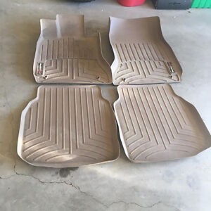 BMW, SET OF WEATHER TECH MATS SET REAR AND FRONT ,SET OF FOUR