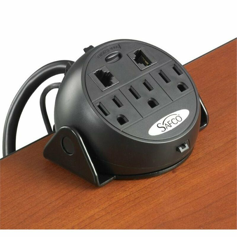 Safco Clamp-On Power Module in Black